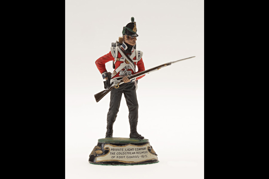 Toy soldier, The Stadden Collection, Chas Stadden Studios Ltd., England, about 1970. 2012.7 © Stewart Museum